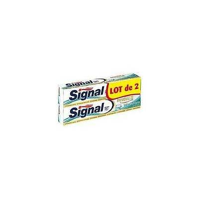 SIGNAL -  Dentifrice - Integral  8 - Interdentaire-  Lot de 2 x75ml