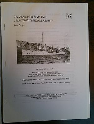The Maritime Heritage Review No 37