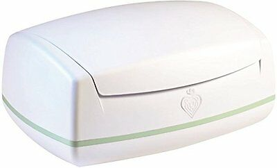 Prince Lionheart Warmies Wipes Warmer - White, open box