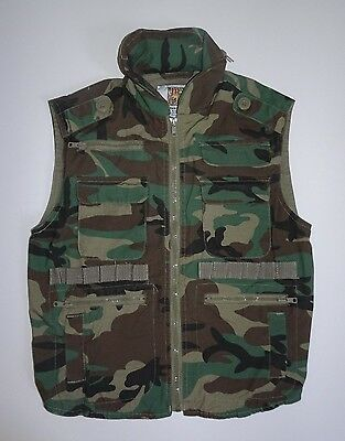 Rothco Junior GI Boys Camouflage Ranger Scout Soldier Hunting Vest Size Medium