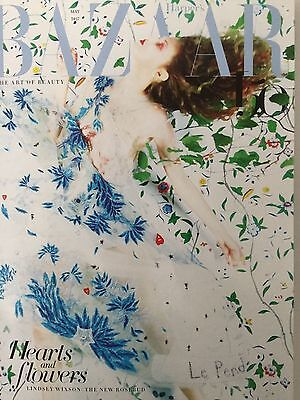 Harper's Bazaar - May 2017 Hearts And Flowers: Lindsey Wixson Cover (Bn!!)