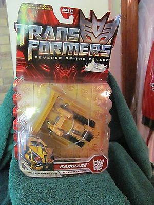 Hasbro 2008 Transformer Revenge of the Fallen Movie Figure NIB Rampage