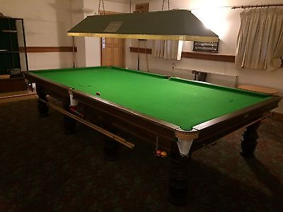 Full Size Snooker Table Needs New Cloth