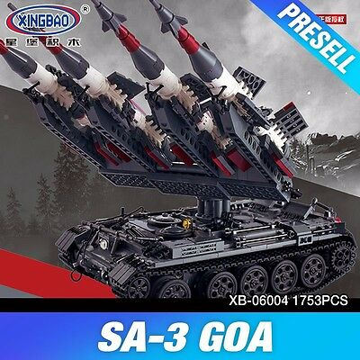 XINGBAO 06004 Military Series The SA-3 missile and T55 Tank   ** PRESALE **