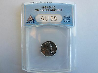 US wrong planchet error coin