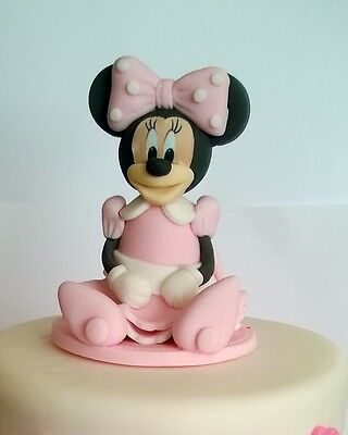 MINI MOUSE cake toppers edible decoration personalised birthday unofficial