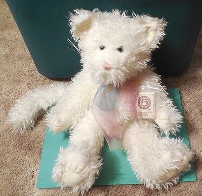 "Retired - Boyds Bears 14"" Plush ""Vanessa V. Fluffpaws"" Cat (with tags)"
