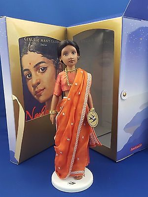 "American Girl Indian Doll ""neela"" India Girls Of Many Lands Original Box Book Ex"