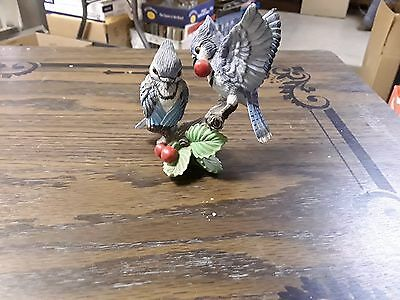 Figurine The Hamilton Co Bluejays Garden Romances Fruits of Love 1997