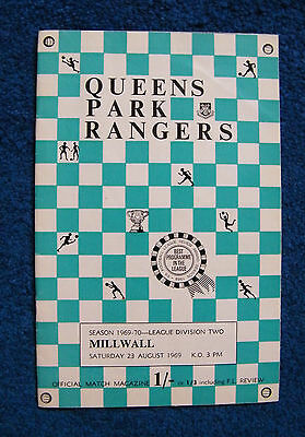 QPR v Millwall, 23 August 1969, Division Two.