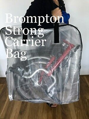 Brompton Bike Bicycle Carrier Bag Travel Airplane Cover
