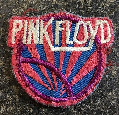 Vintage Original Pink Floyd Patch Rare Hard-To-Find Cloth Preowned 17-688E