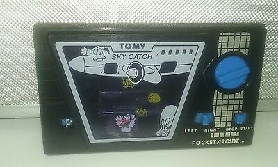 Vintage Tomy Pocket Arcade  Sky Catch Wind up