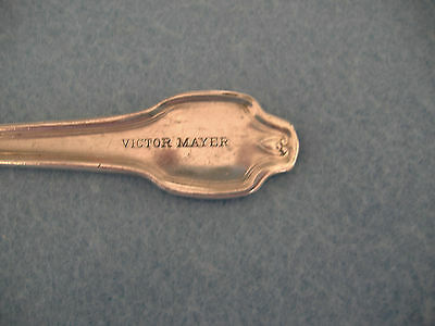 Antique International Silverplate Restaurant Fork-Victor Mayer-Falmouth Pattern