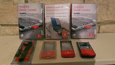 Vodafone Mobile Connect 3G/GPRS Data Card joblot  & external antenna 3g card