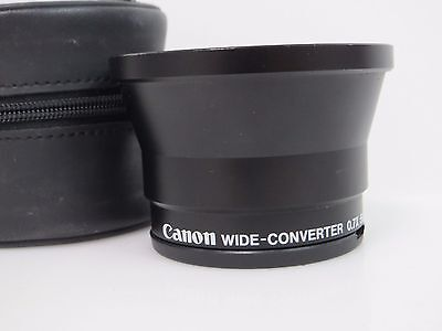 CANON wide angle converter lens 0.7X 55mm