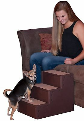 Pet Gear III Step Pet Chocolate For pets up to 75 pounds