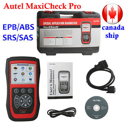 New Autel MaxiCheck Pro EPB/ABS/SRS/SAS Diagnostic Scanner Code Tool From Canada