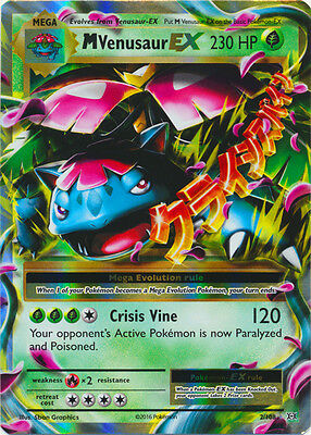 Mega Venusaur EX 2/108 XY Evolutions Pokemon Card TCG Near Mint
