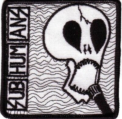 Subhumans- Demolition War Embroidered Patch