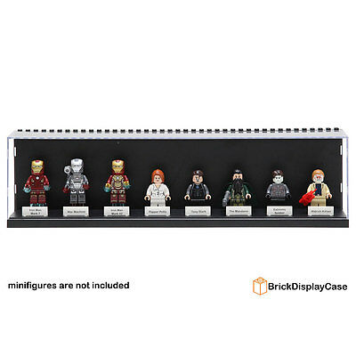 Display Case Box for Lego Avengers Minifigures Tony Stark War Machine iron man