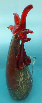 Lovely Murano Style Glass Hen Cockerel Rooster Vintage Retro