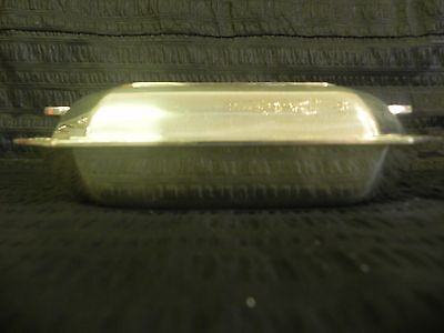 Antique 1933 Elkington Silver Plate Entree Meat Serving Pan Dish Tray Cover Lid