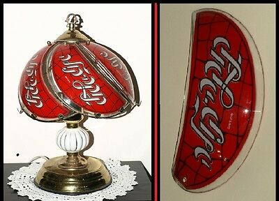 Hebrew Coca Cola Glass panel replacement for touch lamp
