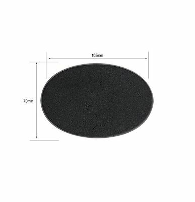 40k 105mm x 70mm oval base games workshop