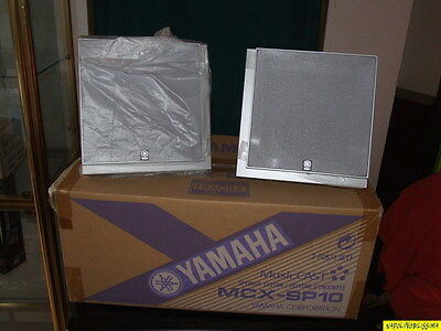 YAMAHA MCX- SP 10 MusicCast Speakers new in box