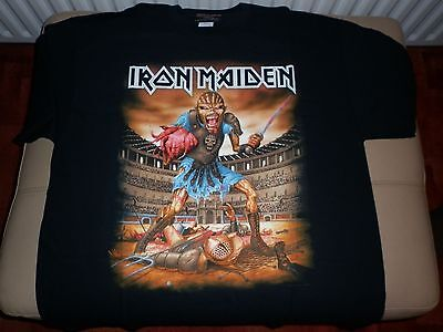 Iron Maiden Italy Event 2016 T Shirt XL