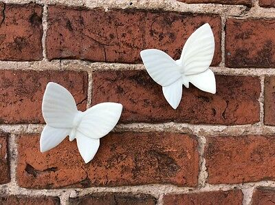 Paint your own pottery butterfly wall/floral decoration ceramic gift