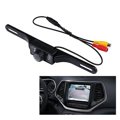 Waterproof Car CMOS Rearview Reverse Backup Camera 7 IR Night Vision Packing Kit
