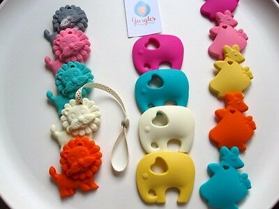 Baby teether, silicone chewing aid, baby/toddler chewie, animal teether