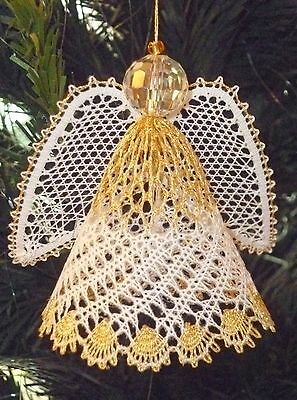 Angel 2013 Christmas Torchon Bobbin Lace Pattern Lacemaking *PATTERN ONLY*