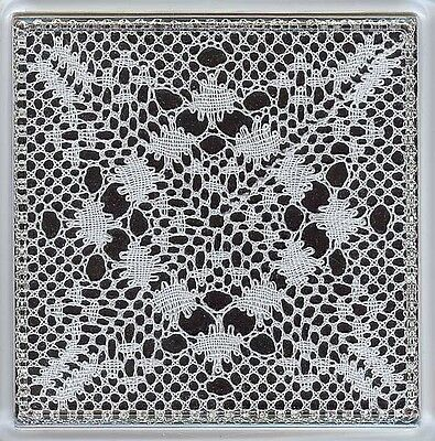 Winter Coaster Torchon Bobbin Lace Pattern Lacemaking *PATTERN ONLY*