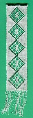 May Bookmark Bobbin Lace Pattern Lacemaking Crafts *PATTERN ONLY*