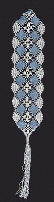 December Bookmark Bobbin Lace Pattern Lacemaking Crafts *PATTERN ONLY*