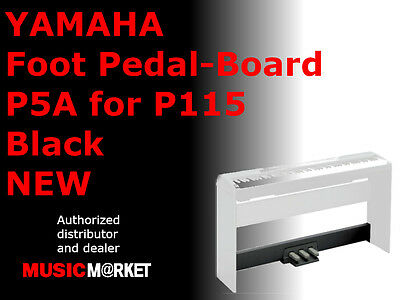 YAMAHA Foot Pedal-Board P5A for P115 Black NEW