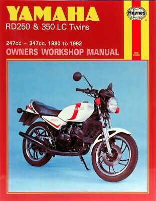 Haynes Manual Yamaha RD250LC,RD350LC 80-82 (Each)