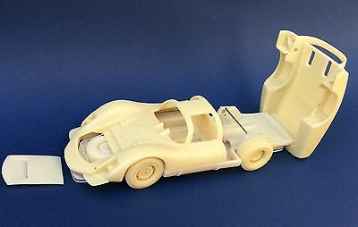 PORSCHE 906 LH le mans 1966 long or short tail FPPM 1/24 unassembled  model kit