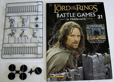 Lord Of The Rings:Battle Games In Middle-Earth–Issue #31 Magazine & miniatures