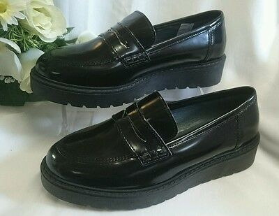 df9d8971920a DAMEN SCHUHE Slipper NEU GR 37 MADE IN ITALY Mokassins LEDER Schwarz B Ware