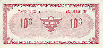 Canada Canadian Tire Store 1973 10 Cents  YN4945 RED