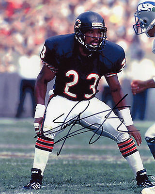 Shaun Gayle - Chicago Bears - NFL - Signed Autograph REPRINT