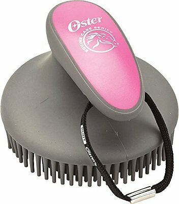 BRAD-827568-Oster 827568 Equine Care Series Fine Curry Comb Pink