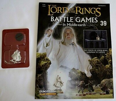 Lord Of The Rings:Battle Games In Middle-Earth–Issue #39 Magazine & miniatures