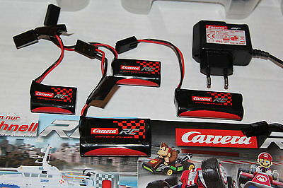 Carrera RC Battery Batteries Charger Top Riesen Selection NEW