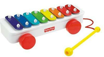 Fisher Price - Xylophone coloré à tirer - Ref.B1074