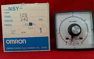 Omron Nsy-12S Nsy Timer 12S 12 Second Mini Timer